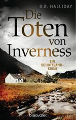 Das Bild zeigt das Cover des Buches Die Toten von Iverness