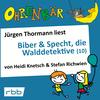 Vergrößerte Darstellung Cover: Jürgen Thormann liest Biber & Specht, die Walddetektive (10). Externe Website (neues Fenster)
