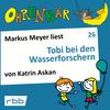 Markus Meyer liest Tobi bei den Wasserforschern