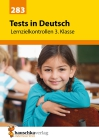 Tests in Deutsch - Lernzielkontrollen, 3. Klasse