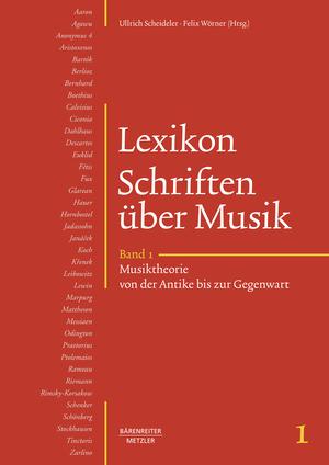 Lexikon Schriften über Musik