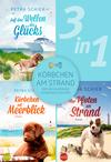 Körbchen am Strand - drei bezaubernde Hundegeschichten