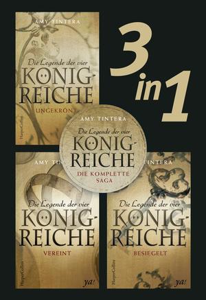 Die Legende der vier Königreiche - Die komplette Saga (3in1)