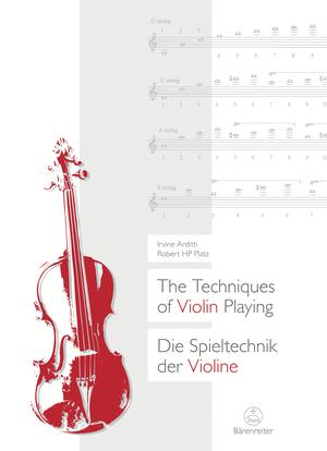 The Techniques of Violin Playing / Die Spieltechnik der Violine
