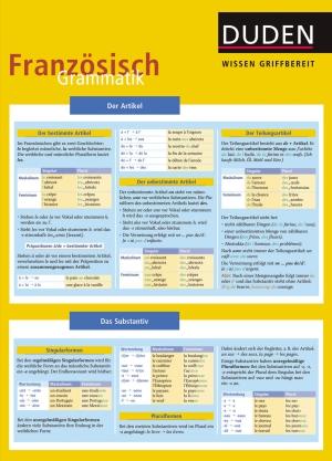 Wissen griffbereit - Französisch: Grammatik