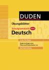 Kopiervorlagen zum Duden Schulgrammatik extra - Deutsch