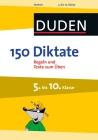 Vergrößerte Darstellung Cover: 150 Diktate 5. bis 10. Klasse. Externe Website (neues Fenster)