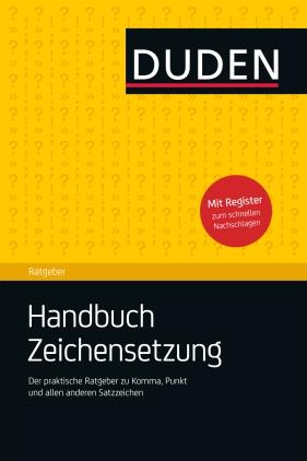 Handbuch Zeichensetzung