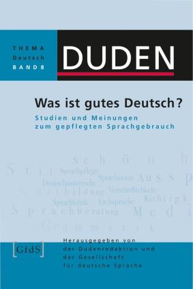 Was ist gutes Deutsch?