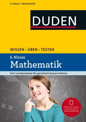 Mathematik, 6. Klasse