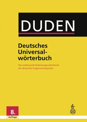 """Duden """"Deutsches Universalwörterbuch"""""""
