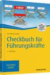 Vergrößerte Darstellung Cover: Checkbuch für Führungskräfte. Externe Website (neues Fenster)