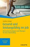 Vergrößerte Darstellung Cover: Gesund und leistungsfähig im Job. Externe Website (neues Fenster)
