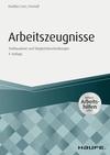 Vergrößerte Darstellung Cover: Arbeitszeugnisse. Externe Website (neues Fenster)