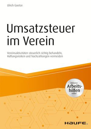 Umsatzsteuer im Verein - inkl. Arbeitshilfen online