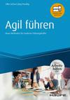 Vergrößerte Darstellung Cover: Agil führen - inkl. Arbeitshilfen online. Externe Website (neues Fenster)