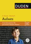 Deutsch, 3, Klasse - Aufsatz
