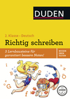 Deutsch, 2. Klasse - Richtig schreiben