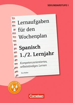 Lernaufgaben: Spanisch: 1./2. Lernjahr