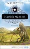 en: Link auf das größere Bild: Hamish Macbeth und das Skelett im Moor. External link opens new window