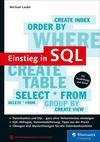 Vergrößerte Darstellung Cover: Einstieg in SQL. Externe Website (neues Fenster)