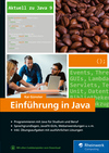 Vergrößerte Darstellung Cover: Einführung in Java. Externe Website (neues Fenster)