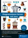 Vergrößerte Darstellung Cover: Programmieren lernen mit Java. Externe Website (neues Fenster)