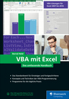 Vergrößerte Darstellung Cover: VBA mit Excel. Externe Website (neues Fenster)