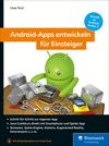 Vergrößerte Darstellung Cover: Android-Apps entwickeln für Einsteiger. Externe Website (neues Fenster)