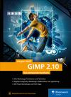 Vergrößerte Darstellung Cover: GIMP 2.10. Externe Website (neues Fenster)