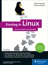 Vergrößerte Darstellung Cover: Einstieg in Linux. Externe Website (neues Fenster)