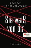 Vergrößerte Darstellung Cover: Sie weiß von dir. Externe Website (neues Fenster)