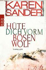 Das Bild zeigt das Cover des Buches Hüte dich vorm bösen Wolf