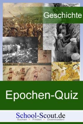 Epochen-Quiz: Vormärz / Biedermeier