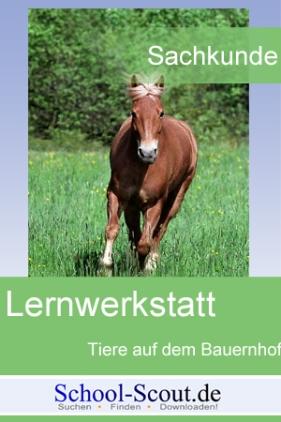 Lernwerkstatt: Tiere auf dem Bauernhof