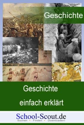 Wie geht man mit Geschichtsmaterialien um (Textquelle, Sekundärtext, Bildquelle, Statistik, Diagramm)?