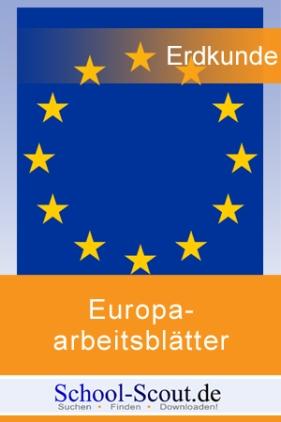 Europaarbeitsblätter: Thema Frankreich