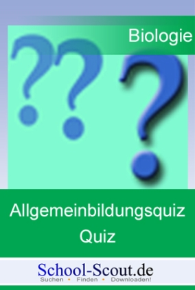 Biologie-Quiz: Wald 2