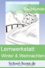 Lernwerkstatt: Die Jahreszeiten - Winter und Weihnachten