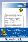 Grammatikübungen mit Einstein der schlauen Schildkröte - Thema: Pronomen