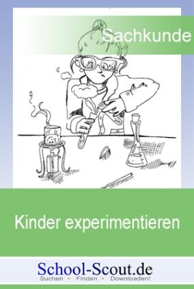 Kinder experimentieren: Das Feuer