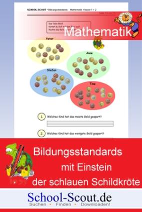 Bildungsstandards mit Einstein der schlauen Schildkröte - Klasse 2
