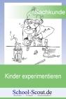 Kinder experimentieren: Licht und Schatten