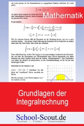 Grundlagen der Integralrechnung: Übungsklausur