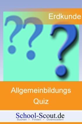 Allgemeinbildungsquiz: Deutschland