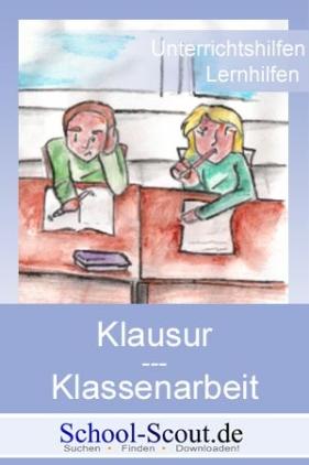 Klassenarbeit - Klasse 9 bis Klasse 11: Erich Kästner - Monolog eines Blinden - Aufgabenstellung zur Interpretation