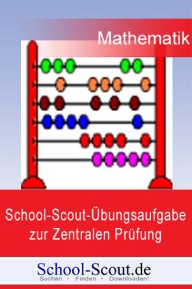 School-Scout-Übungsaufgabe zur Zentralen Prüfung im Fach Mathematik, Klasse 10 - Thema: Stochastik