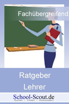 Lehreralltag - Tipps für die Arbeit von Lehrern zwischen Schule und Arbeitszimmer