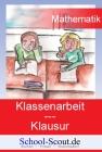 Klassenarbeit - Klasse 8 bis 10: Lineare Gleichungen mit einer Unbekannten