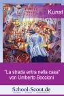 Boccioni, Umberto - La strada entra nella casa